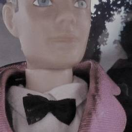 1My 1960 ken doll, at the Party by Julie Grimshaw