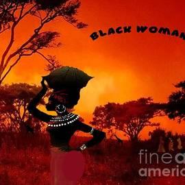 African Woman by Belinda Threeths