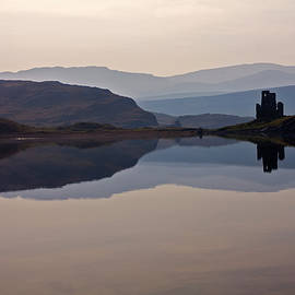 Ardvreck Castle Reflections by Derek Beattie