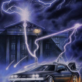 Back to the future by A Prints