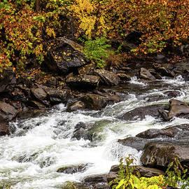 Cheoah River Cascades by Debra and Dave Vanderlaan