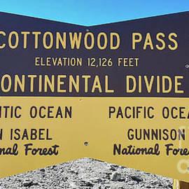 Cottonwood Pass 2 by Tony Baca