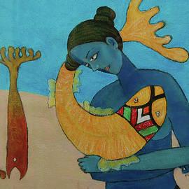 Fishscape by Manjula Prabhakaran Dubey