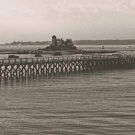 Fort Foster Pier, Kittery, Maine by Steven Ralser