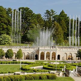 Fountain Garden by Sally Weigand