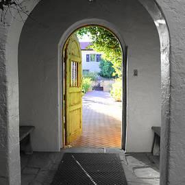 Garden Gate - La Posada Inn by Matt Richardson