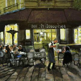 Les Philosophes by David Zimmerman