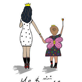 Me And Mini Me by Flyske Designs