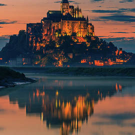 Mont Saint Michel, France by Henk Meijer Photography