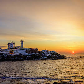 Nubble AT Sunrise by Mark Papke
