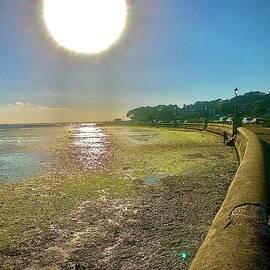 Sandbanks Sunset by Gordon James