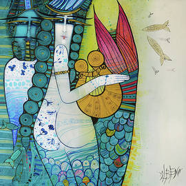 The song of the mermaid by Albena Vatcheva