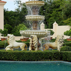 Three Tier Fountain by Sally Weigand