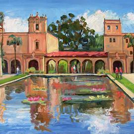 Waterlily Pond Balboa Park by Robert Gerdes