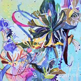 Wild Honeysuckle by Mindy Newman