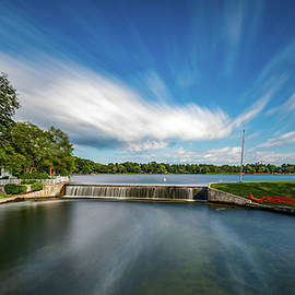 240 Seconds at Fowler Lake by Randy Scherkenbach