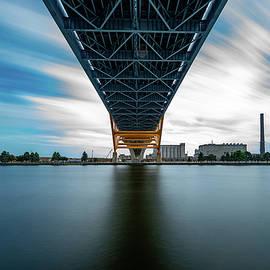 240 Seconds Under The Hoan Bridge by Randy Scherkenbach