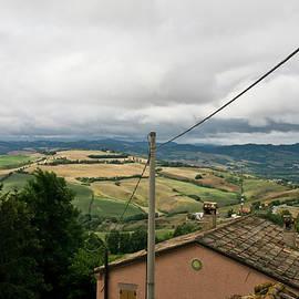 Italian hills - Urbino countryside landscape by Casimiro Art