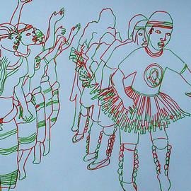 Orunyege traditional dance from the people of Bunyoro of Western Uganda by Gloria Ssali