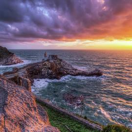 Portovenere Sunset by Giovanni Laudicina
