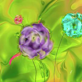 3 Roses #j6 by Leif Sohlman