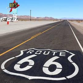 Route 66 Roadtrip - Roys Motel Cafe by Matt Richardson