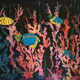 Tropical Fish Party by Anne Sands