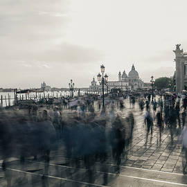Venice cityscape with movement. Painterly vision  by Casimiro Art