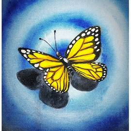 3d Butterfly by Supriya Sharma