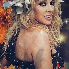Kylie Minogue by Laurence Stefani