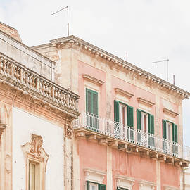 401. Pink Building, Martina Franca, Puglia, Italy by Julie Travel Photography