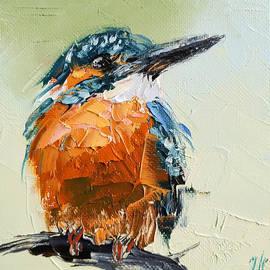 Kingfisher bird by Iryna Khort