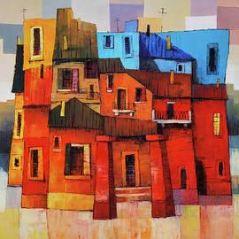 Modern cityscape by Narek Qochunc