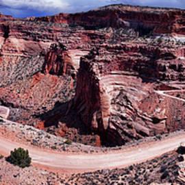 canyonlands, island in the sky, shafer trail Utah by Peter-Michael Von der Goltz