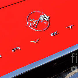 62 Chevy Corvette Hood Logo-7650 by Gary Gingrich Galleries