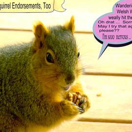 6549 - Friendly squirrels by Lyman Loveland