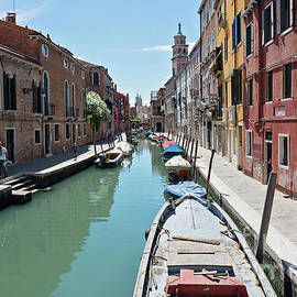 Typical canals with old houses Venice by Beautiful Things