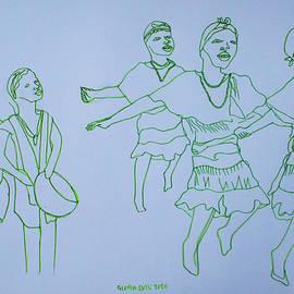 Acholi Traditional Dance Uganda by Gloria Ssali
