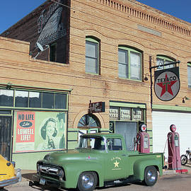 A 50s Ford Army Truck, Lowell, Arizona, USA by Derrick Neill