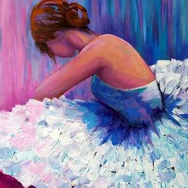 A Ballerina in Repose by Rosie Sherman