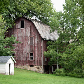 A Barn In The Trees by Guy Whiteley