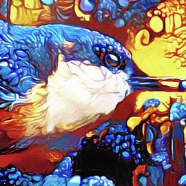 A Berry Blue Bird by Susan Maxwell Schmidt