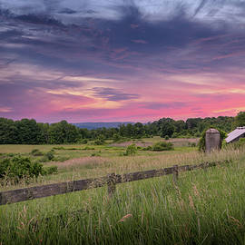 Country Summer Sunset by Bill Wakeley