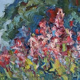 A blossoming meadow by Anna Shurakova