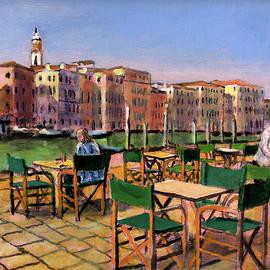 A Breakfast on the Terrace by David Zimmerman