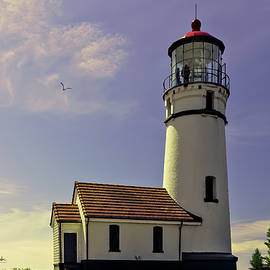 A Breezy Morning At Cape Blanco Lighthouse by Diane Schuster