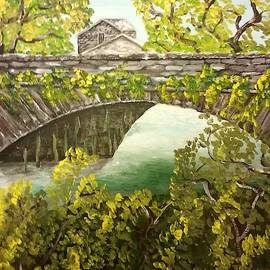 A Bridge In Grassmere England by Irving Starr