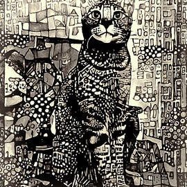 A Cat With Big City Dreams by Peggy Collins