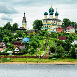 A Church On the Volga by Kay Brewer