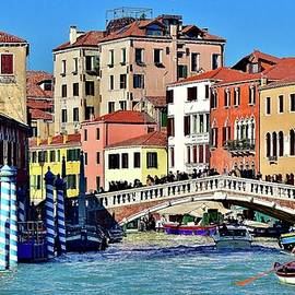 A Colorful Venice Afternoon by Frozen in Time Fine Art Photography
